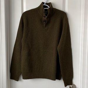 JCrew men's 100% lambs wool sweater size medium m
